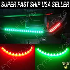 pontoon boat led light kits pair bow led lighting red green navigation kit bass boat pontoon