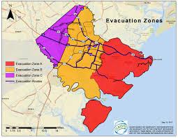 Map Of Savannah Ga Savannah Ga Official Website Hurricane Information