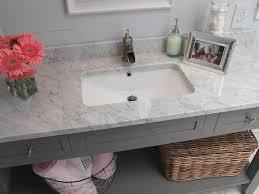 Bathroom Vanities With Marble Tops Marble Top Bathroom Vanity Countertops Hgtv Onsingularity