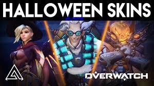 overwatch skins halloween overwatch all new halloween skins emotes u0026 victory poses youtube