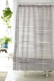 Shower Curtain Striped Decoration Modern Design Shower Curtain Image Of Mid Century