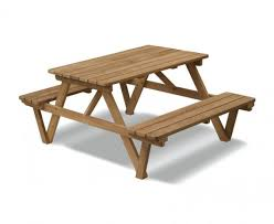 luxury 4ft picnic bench wooden pub bench teak u2013 1 2m
