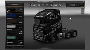 volvo truck 2013 price volvo fh 2013 scratched black persian skin modhub us