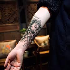 clock tattoo on hand aliexpress com buy black clock tatoos for men temporary large
