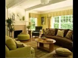 DIY Brown And Green Living Room Decorating Ideas YouTube - Green living room ideas decorating