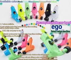 ego rotary tattoo machine gun available light weight supply for