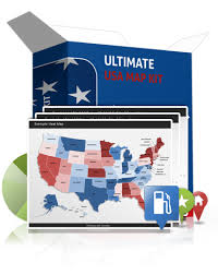 editable powerpoint us map kit us map templates with states