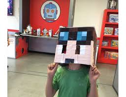 Minecraft Halloween Costume Nose Activated Minecraft Halloween Costume Hackhalloween