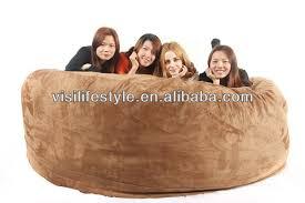 xxxl 8ft comfortable 4 6 seaters foam filled bean bag sofa view