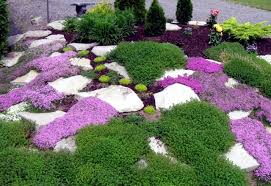 landscaping with stone u2013 21 ideas and use in garden decorations