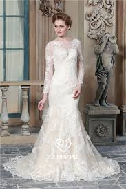 wedding dress suppliers mermaid wedding dress lace appliqued wedding dress sleeve