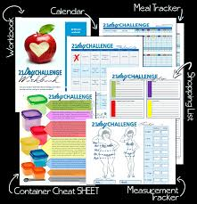 21 day fix review calendar meal plan u0026 meal tracker download