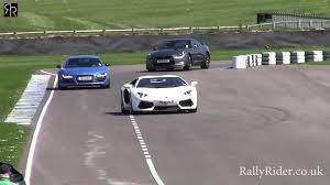 lexus lfa vs audi r8 drag race high speed lamborghini aventador and audi r8 v10 gt fly past on