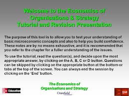 tutorial questions on entrepreneurship the economics of organisations and strategy chapter 5 growth and
