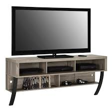 Wall Mount Tv Stand With Shelves South Shore City Life 48 In Wall Mounted Media Console Hayneedle