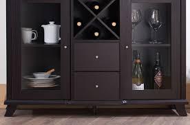 cabinet black wine cabinet buffet magnificent black wine rack