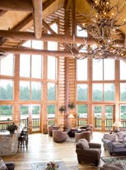 interior log homes interior design décor for log homes hybrid log homes luxury