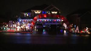 huntsville home lights up the night for the holidays on addison