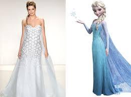 disney wedding dress some dresses are worth melting for disney princess wedding