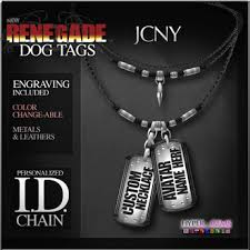 mens personalized dog tags second marketplace jcny renegade dog tag id