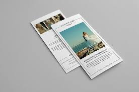 wedding photography trifold brochure brochure templates