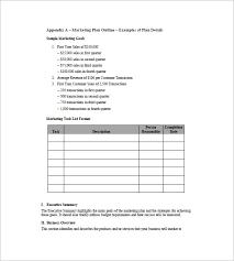 simple marketing plan template u2013 15 free word excel pdf format