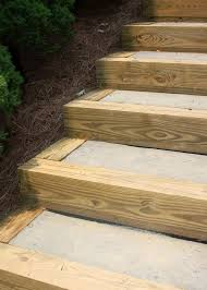 diy outdoor staircase hometalk