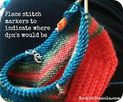 knitting pattern for socks using circular needles mini circular sock knitting tutorial the method to my madness