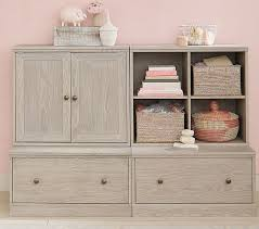 Changing Table System Build Your Own Cameron Wall System Pottery Barn