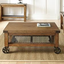 steve silver hailee cocktail table with casters hayneedle