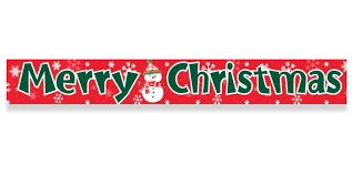 merry christmas foil banner 3 65m christmas decorations party ark