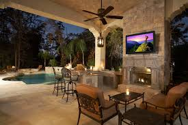 Best Outdoor Kitchen Best Outdoor Televisions For Backyard Entertainment Official