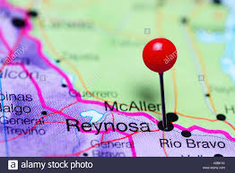Map Of Mexico by Reynosa Pinned On A Map Of Mexico Stock Photo Royalty Free Image