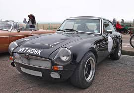 nissan leaf nismo body kit mgb with a sebring body kit and v8 engine race cars pinterest