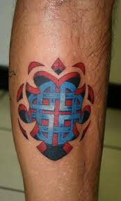 endless knot meaning tattoo on leg tattooshunter com