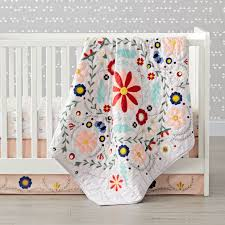 Girl Nursery Bedding Set by Girls Crib Bedding Sets The Land Of Nod