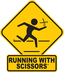 halloween medals about running with scissors u2013 running with scissors