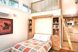 tiny cottage with a wall bed in living room youtube striking