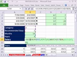 excel magic trick 629 hr salary calculation based on relevant