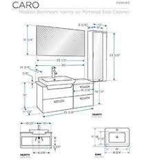 Standard Height For Cabinets What Is The Standard Height Of A Bathroom Vanity Vessel Sink