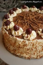 cuisine mascarpone tort szwarcwaldzki czyli czarny las rozmaite słodkości