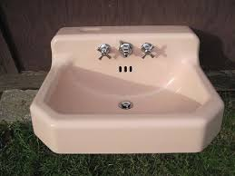 american standard cast iron sink antique vintage american standard pink bathroom sink 1950 s cast