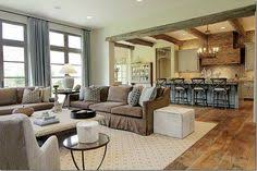 Choosing A Floor Plan Open Kitchen Idea  Effective Ways To - Living room and kitchen design