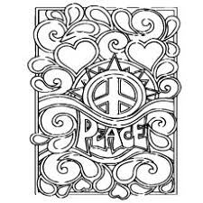 top 25 free printable peace sign coloring pages