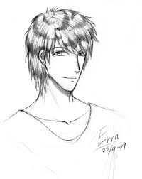 sketch zebra hair boy by ernn on deviantart