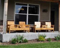 bench porch chairs design wonderful diy outdoor bench seat image