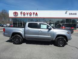 new certified 2017 toyota tacoma sr5 madison in craig toyota