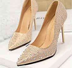 wedding shoes gold color 2015 rhinestone wedding shoes bridesmaid shoes bridal pink shoes