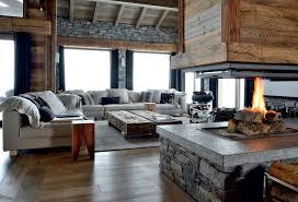 deco chalet de montagne un chalet familial sur 5 niveaux en savoie idées déco meubles