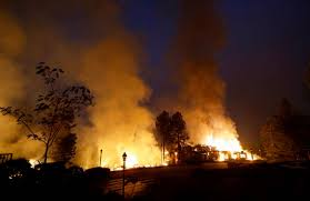 Wildfire Anderson Ca by Wildfires Leave Chimneys Charred Appliances In Their Wake The